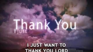 Thank You Lord    Don Moen