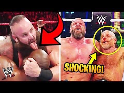 10 Shocking WWE Moments That Weren't Planned!