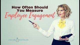 How Often Should You Measure Employee Engagement?  - Jacob Morgan