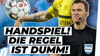 Schiedsrichter-Chaos: War's ein Handspiel bei BVB-Schalke?! | Analyse