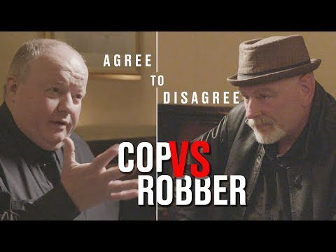 Agree To Disagree I Bank Robber meets Police Officer | LADbible