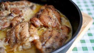 Самое вкусное ВТОРОЕ ИЗ КУРИЦЫ. Рецепт кавказской кухни