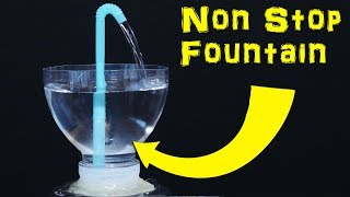 How to Make a Non Stop Heron's Fountain