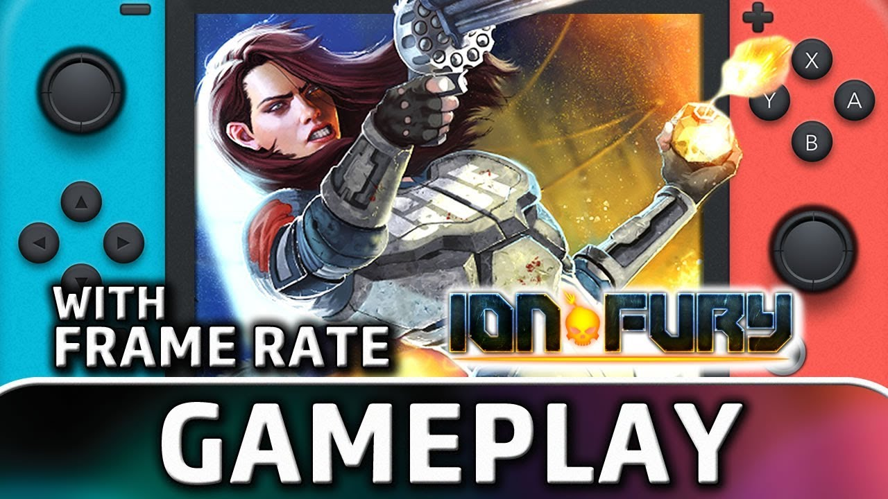 Ion Fury | Nintendo Switch Gameplay and Frame Rate