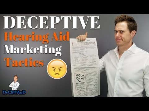 Deceptive Hearing Aid Marketing Tactics | The Truth About Hearing Aid Marketing