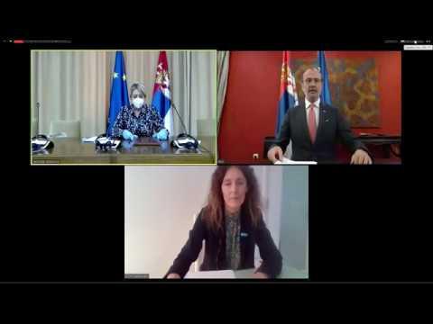 Potpisivanje sporazuma o dodatnoj EU pomoći Srbiji u iznosu od 4,9 miliona evra