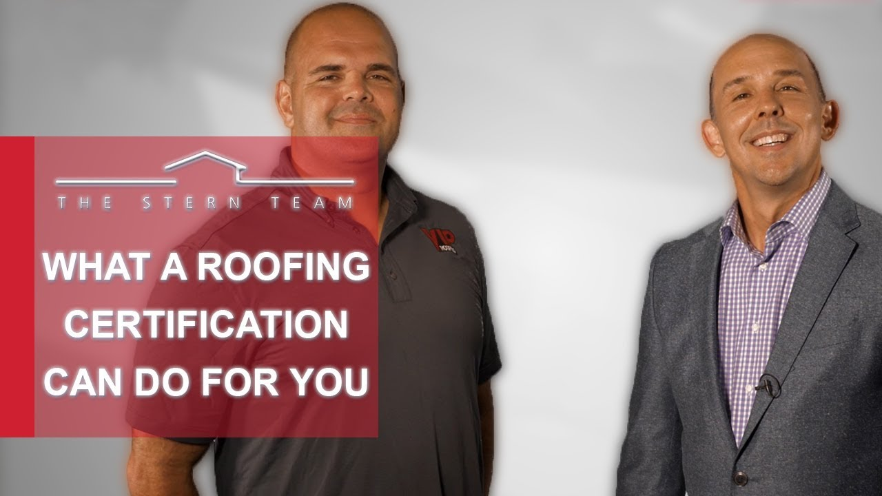 What a Roofing Certification Can Do for You