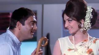 Sharm Aati Hai - Sunil Dutt & Saira Banu - Padosan - YouTube