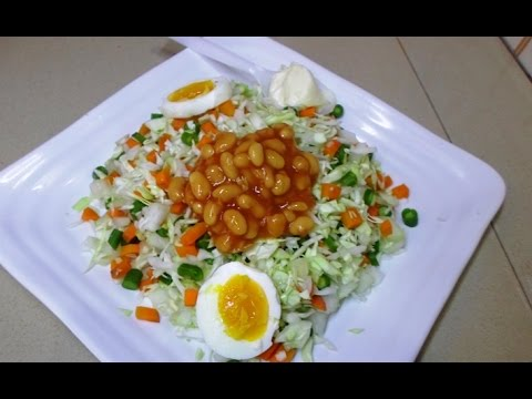 STEPS  ON HOW TO PREPARE VEGETABLE SALAD AND ITS RECIPES