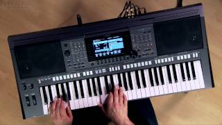 Kraft Music - Yamaha PSR-S770 Arranger Demo with Blake Angelos