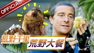 "Absolute Wild Highlight :Ten ""delicious"" food made by Bear Grylls In Absolute Wild【SMG Official HD】"