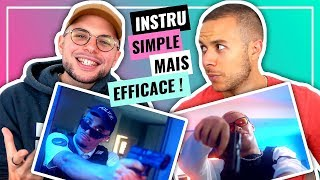 REACTION FR (2019) | PREMIÈRE ÉCOUTE | Dinor Rdt X Mister V   Massa | Clip Officiel
