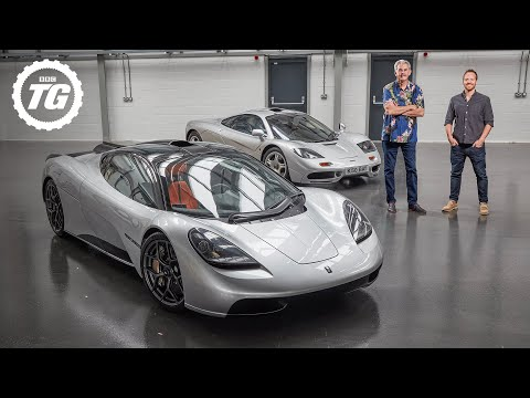 The secrets behind Gordon Murray's £2.5m, 650bhp T.50 hypercar and McLaren F1 (4K) | Top Gear