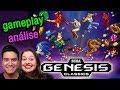 Sega Genesis Classics Gameplay E An lise Pt br