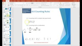 4.6 - Counting Rules