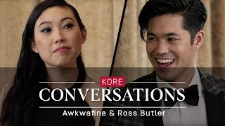 Kore Conversations: Awkwafina and Ross Butler - Video Youtube