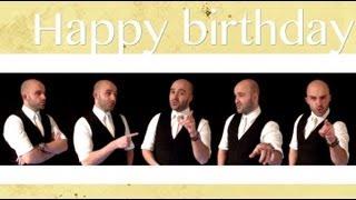 Happy Birthday - A Cappella