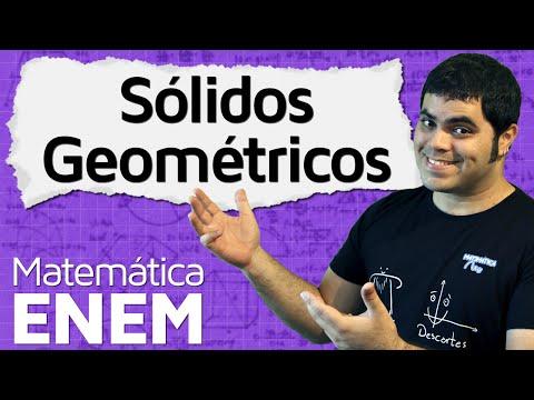 Introdução à Geometria Espacial - Sólidos Geométricos e Planificação | Matemática do ENEM