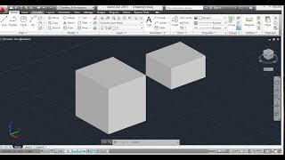 Combine Two Objects - AutoCAD