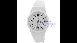 Видео обзор женских наручных часов QQ VQ50-016
