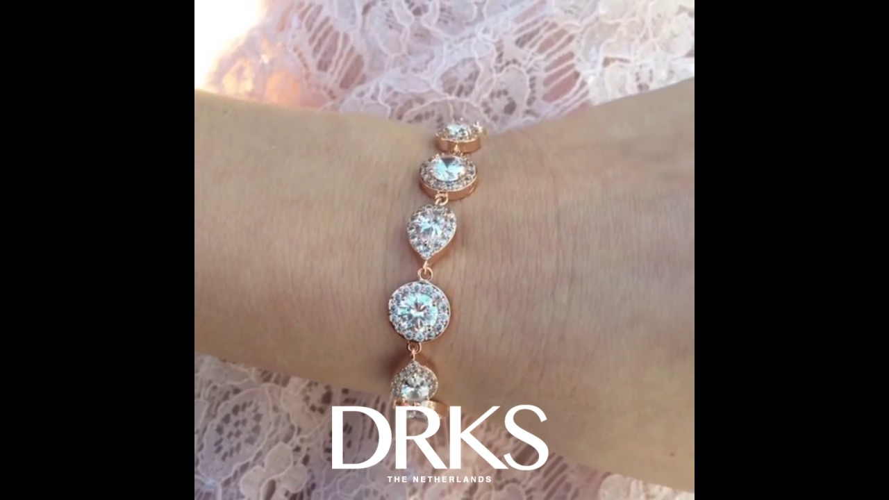 Daily Luxury Armband V Rose Goud Kleurig