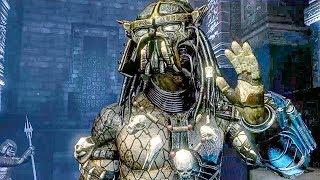 Praetorian Vs Predator Fight Scene - Aliens Vs Predator Game