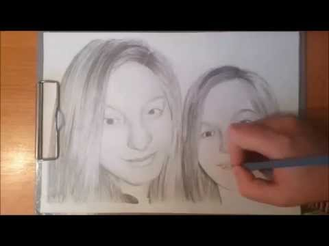 Speed art - Monika a Mirka