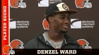 Denzel Ward Preps for Preseason Week 3 vs. Bucs | Browns Player Sound