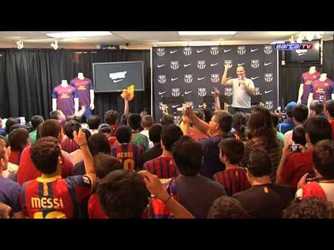 F.C Barcelona United States of America Tour 2011 (Part 1) | MTW