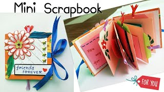Mini Scrapbook/Mini Scrapbook for Friend/How to make Mini Scrapbook/Scrapbook Mini Album for Friends