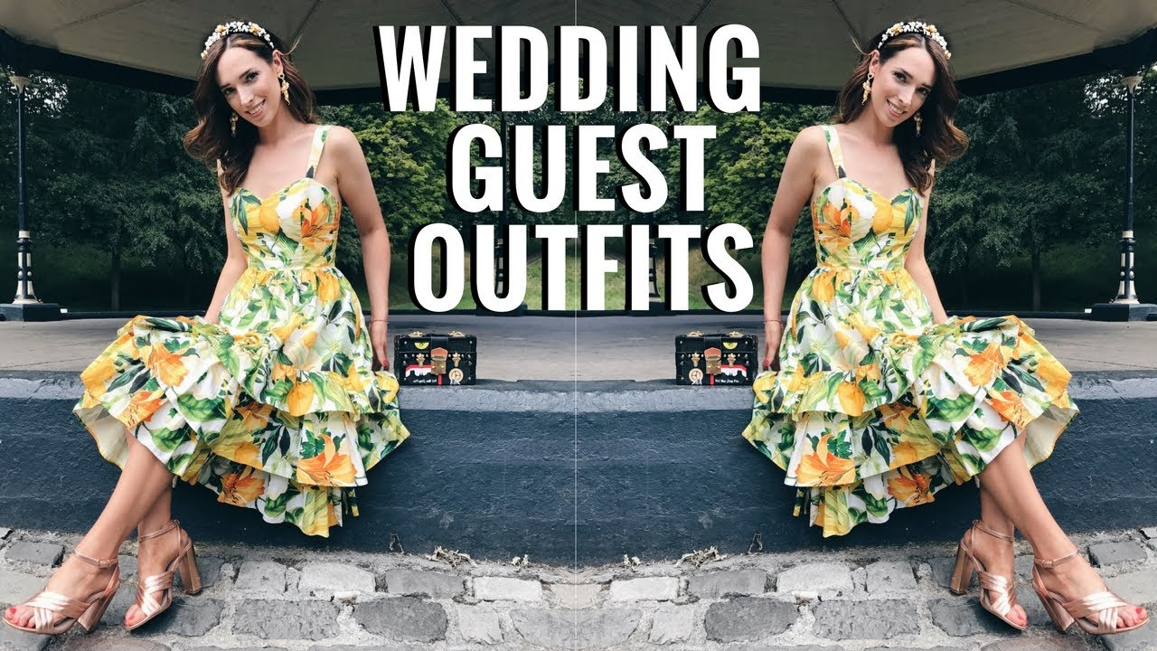 5 STYLISH WEDDING GUEST OUTFITS 👒 👗  OCCASION WEAR LOOKBOOK | CIARA O DOHERTY