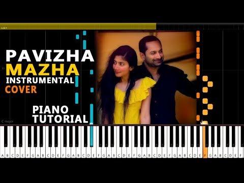 Pavizha Mazha Instrumental Cover By Blacktunes Audios Pavizha Mazha Piano Cover Athiran