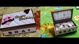 Special Handmade Birthday Gift For Brother | Handmade Gifts | Birthday Box | RISHU GIFTS |