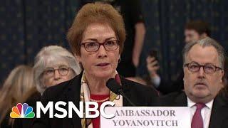 Lev Parnas Describes How Trump Struggled To Fire Amb. Yovanovitch   Rachel Maddow   MSNBC