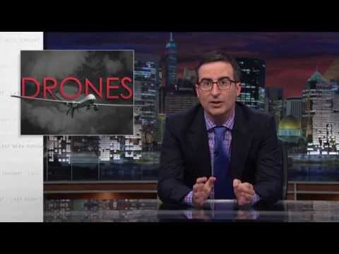 John Oliver Wants To Remind You That Drones Are Terrifying