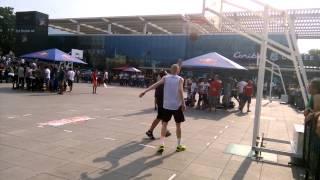 red bull king of the rock basketbol 2.08.2015 bursa grup maçışampiyon berkay kutlu ile burak  sarı