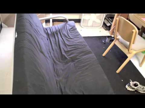 Walmart Mainstays futon review