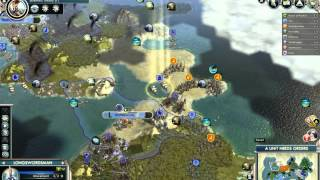 preview picture of video 'Let's play Civ 5 (Gods&Kings) - Harder Siamese Twins - Part 13'