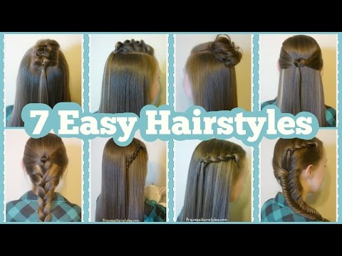 , title : '7 Quick And Easy Hairstyles For School'