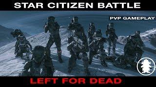 Star Citizen PVP Crash Site Battle