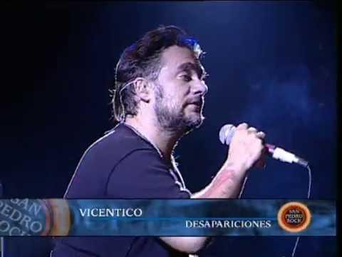 Vicentico video Desapariciones - San Pedro Rock II / Argentina 2004