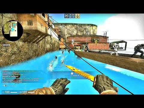 CS:GO · Zombie Escape Mod: ze_Escape_the_Eye_p3