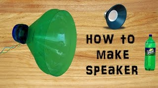 How To Make Speaker with plastic bottle Simple & Easy DIY