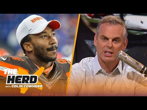 Colin reacts to Myles Garrett suspension, says Baker will never reach his potential | NFL | THE HERD