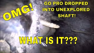 Dropped GoPro Down Cave: Can't Believe What I See!