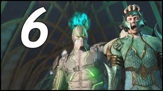 AQUAMAN AND GREEN LANTERN DEFEND ATLANTIS! - Injustice 2 Walkthrough Part 6