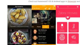 Framework7 Tutorial 1 Introduction and download