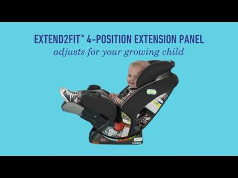 כיסא בטיחות פוראבר אקסטנד2פיט - 4Ever Extend2Fit