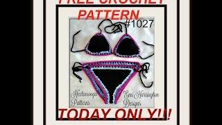 Bikini Crochet Pattern - You Could Win This Pattern!
