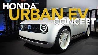 Honda Urban EV Concept First Look: 2017 Frankfurt Motor Show | Kholo.pk